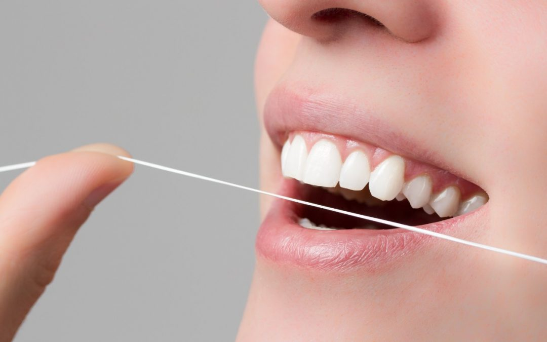 Cómo se utiliza el Hilo dental.